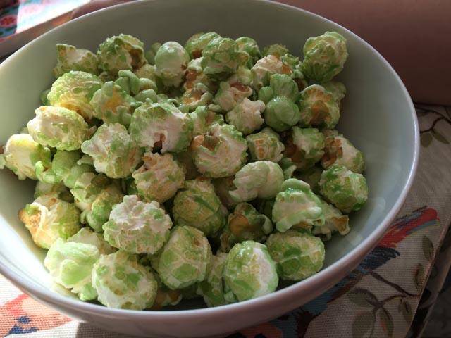 grim green sweet popcorn