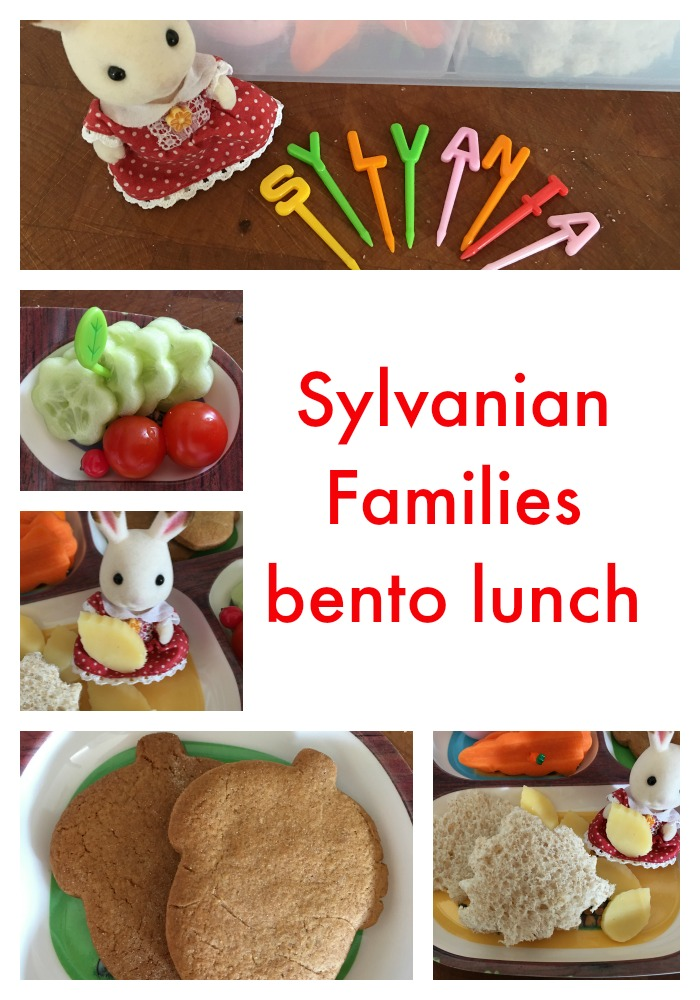 Sylvanian Families bento lunch