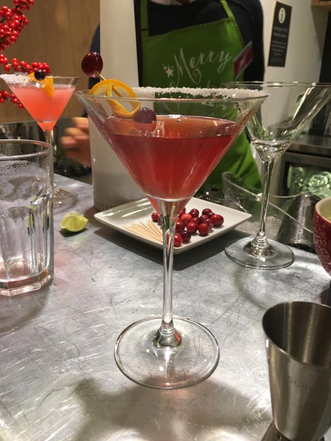 cocktails with Waitrose