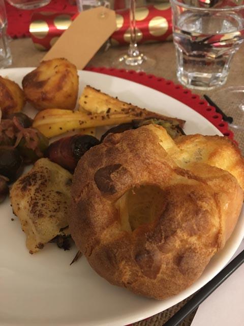 Christmas dinner with Waitrose
