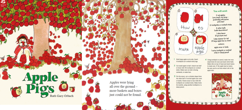 Apple Pigs, by Ruth Gary Orbach
