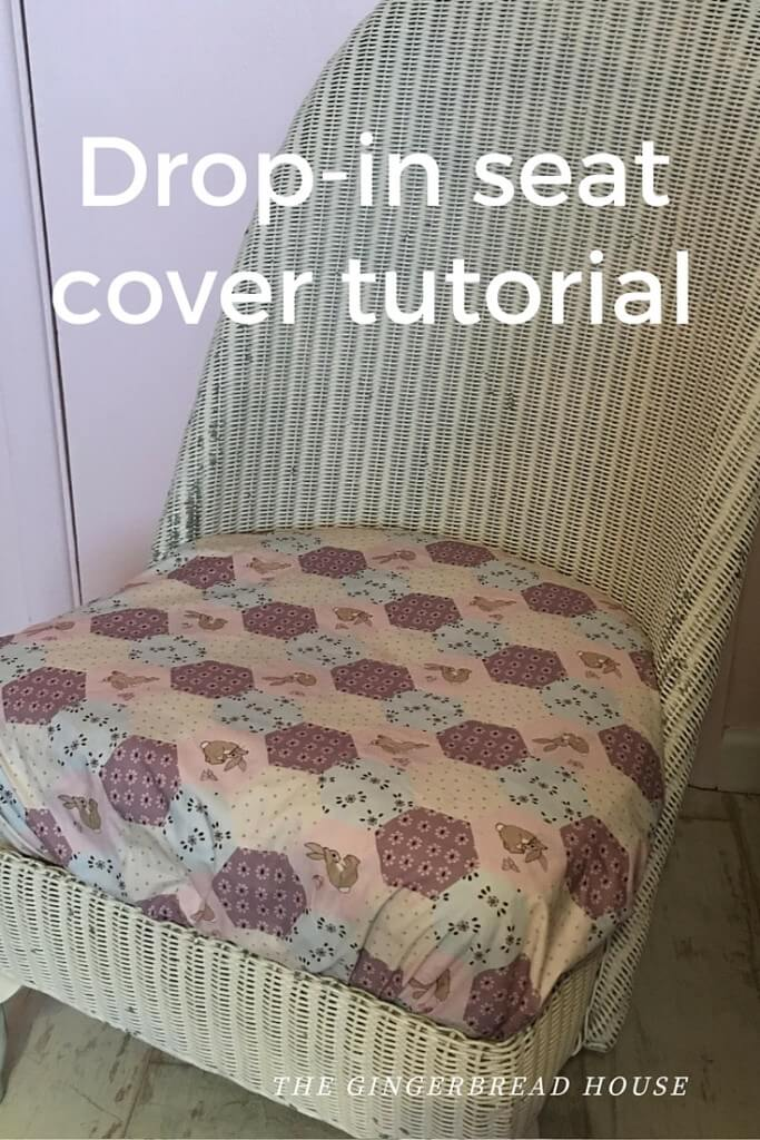 drop in seat cover tutorial