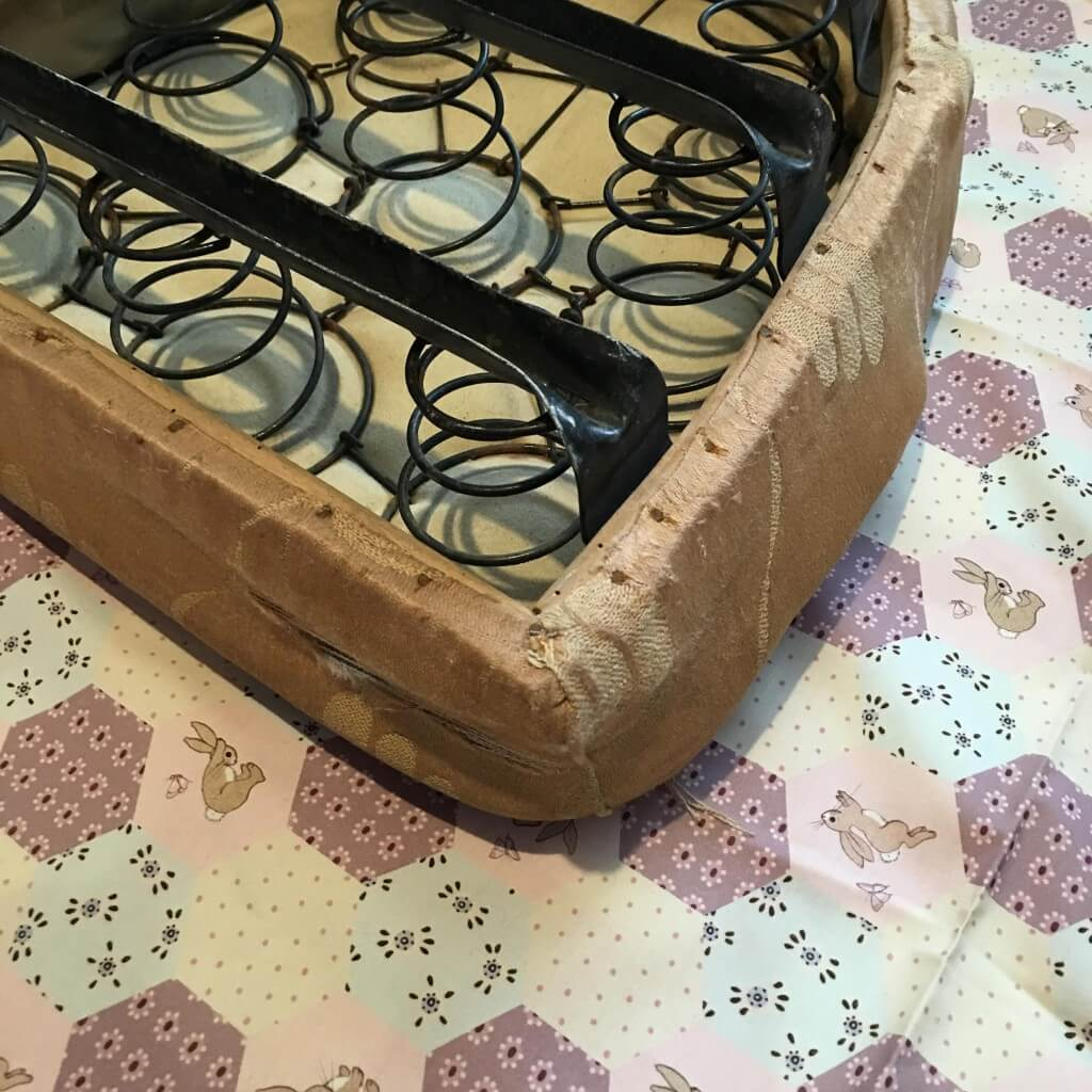 vintage seat cushion