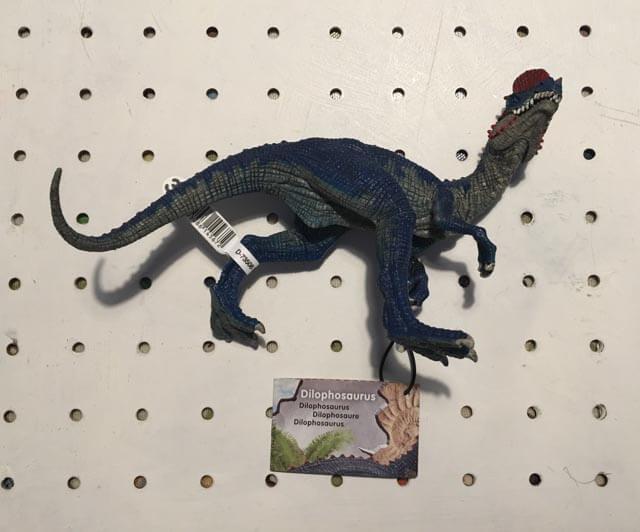 Schleich Dilophosaurus toy