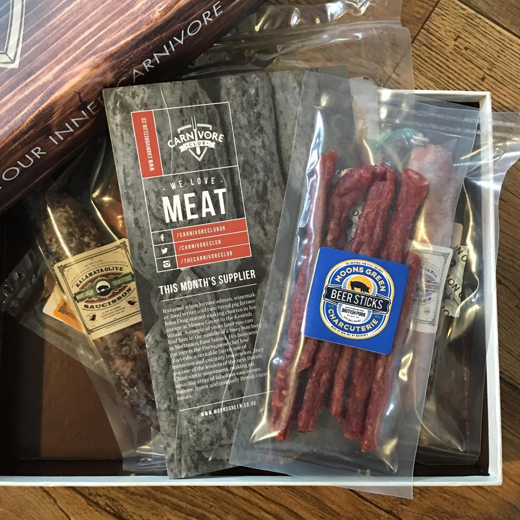 Carnivore Club subscription box contents