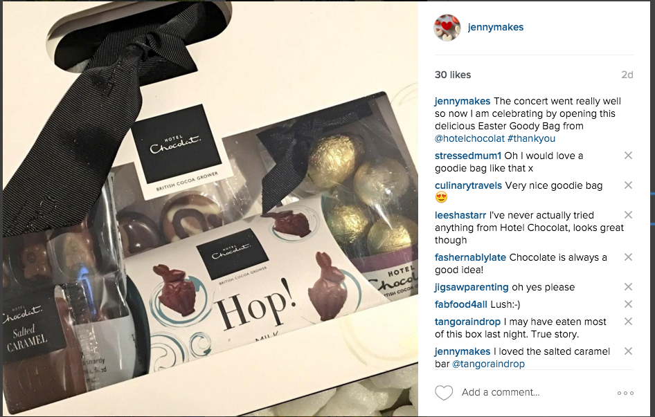 The Easter Goody Bag from Hotel Choclat