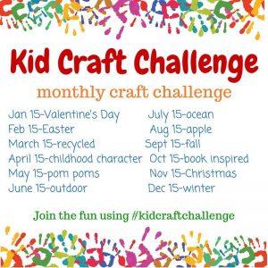 kid craft challenge