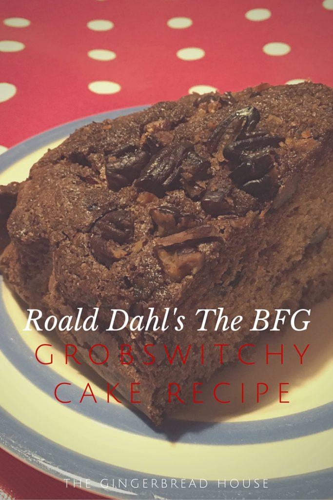 Roald Dahl's BFG Grobswitchy cake recipe