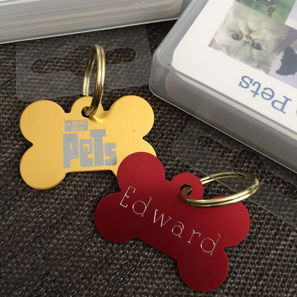 The Secret Life of Pets dog tags