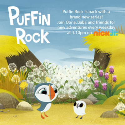 image of Puffin Rock characters