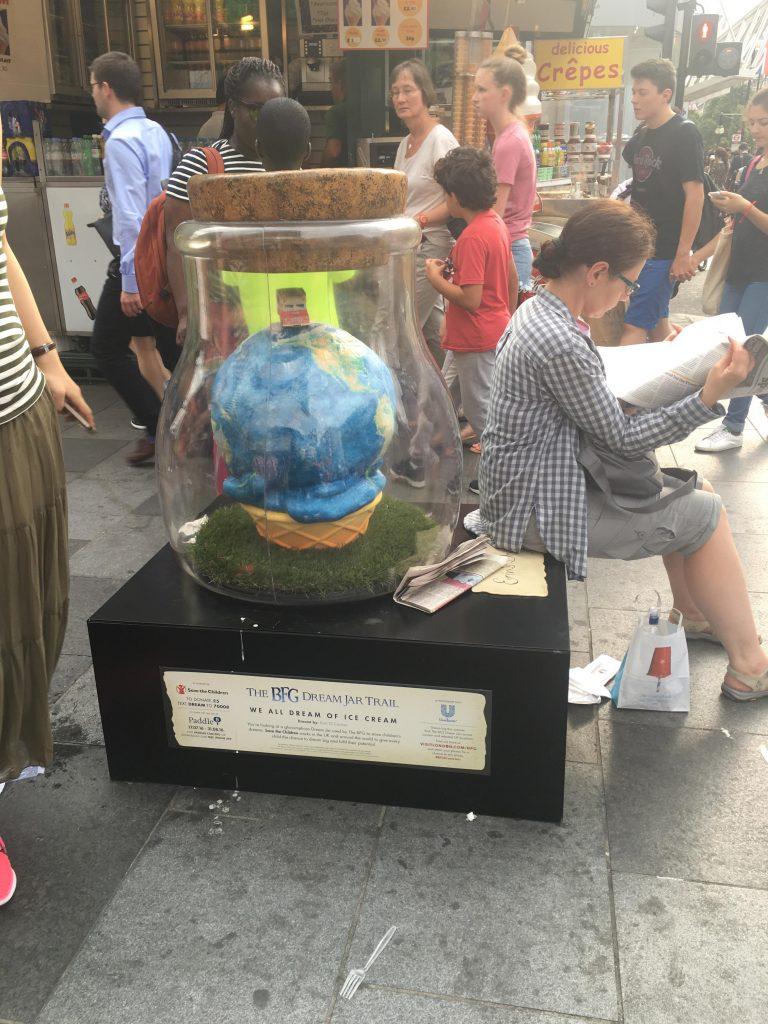 The BFG Dream Jar Trail Oxford Street