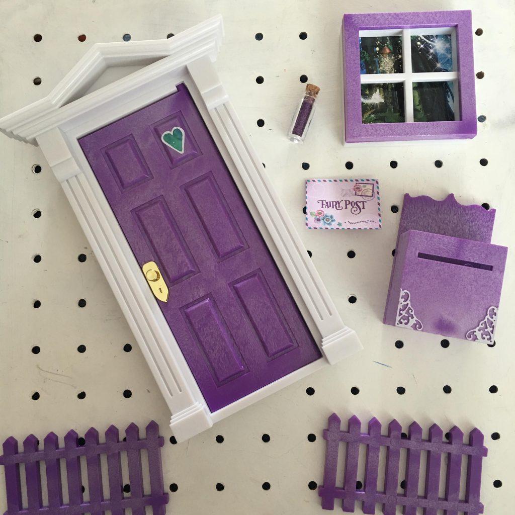 Opening Fairy Doors contents