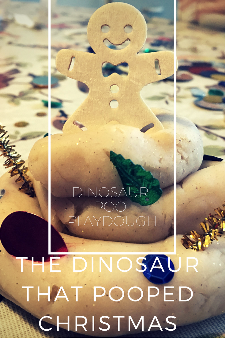 Dinosaur Poo Playdough The Dinosaur That Pooped Christmas